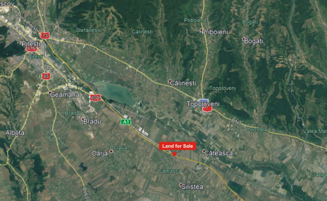 Land for sale, A1 Motorway (km 97)