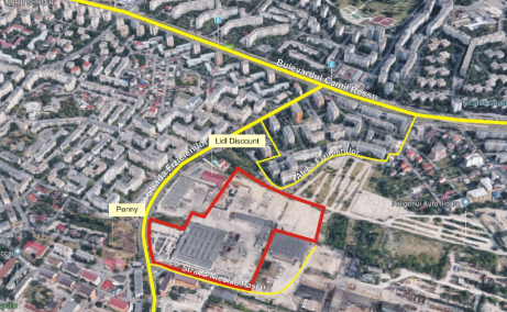 Land for sale, Fizicienilor Street, Bucharest