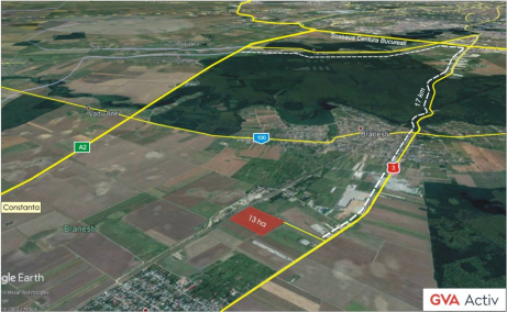 Land For Sale Branesti